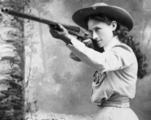Women in History Crush Wednesday - Annie Oakley