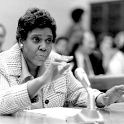 Women in History Crush Wednesday - Barbara Jordan