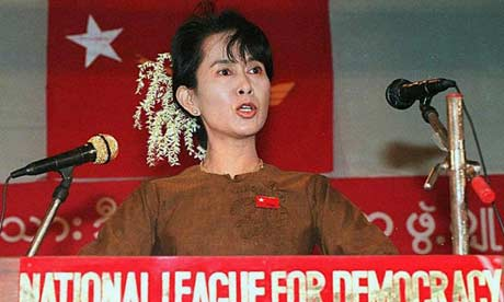 Women in History Crush Wednesday - Aung San Suu Kyi