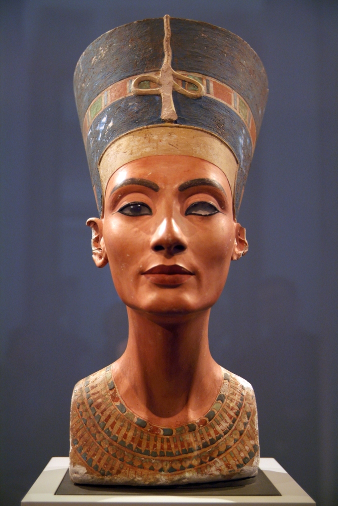 Women in History Crush Wednesday - Nefertiti